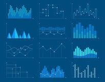 企业图和图表infographic元素 也corel凹道例证向量 向量例证