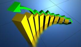 企业图形 免版税库存图片
