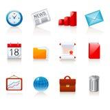企业图标办公室 免版税图库摄影