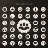 企业图标设置了 向量例证