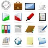 企业图标 免版税图库摄影