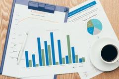 企业图表分析报告 应计额 库存图片