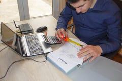 企业图象映象 没有金钱的企业家想法 免版税库存图片