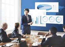企业图组织成功概念 免版税库存照片