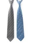 企业在白色背景的脖子领带 免版税库存图片
