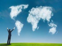 企业地球 免版税库存图片
