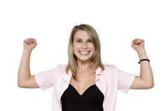 企业坚强的妇女 库存图片