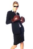 企业坚韧妇女 免版税库存图片