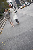 企业城市妇女 免版税库存图片