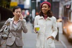 企业城市妇女 库存照片