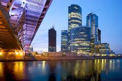 企业城市 库存图片