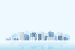 企业城镇 免版税库存照片