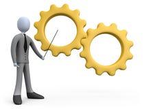 企业培训 向量例证