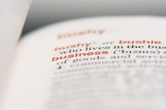 企业基础 免版税库存图片