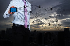 企业增长。 免版税库存图片