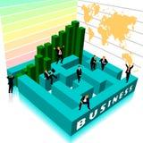 企业复杂 免版税库存照片