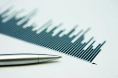 企业复核 免版税图库摄影