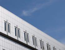 企业大厦在城市 免版税库存图片