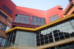 企业大厦在Chiang Mai,泰国 免版税库存照片