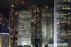 企业大厦详细资料  免版税库存图片