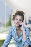 企业夫人年轻人 免版税库存图片