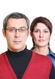 企业夫妇 免版税库存照片