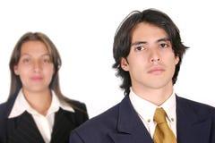 企业夫妇wm 免版税库存照片