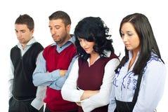 企业失望的人员 免版税库存图片