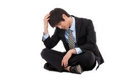 企业失败人 免版税库存照片