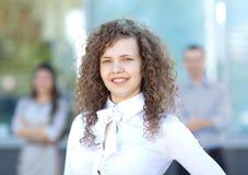 企业女性领导先锋 图库摄影