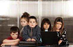 企业孩子 库存图片