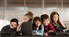 企业孩子 免版税库存照片