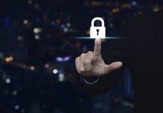 企业安全概念 免版税库存照片