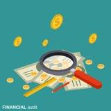 企业审计,逻辑分析方法,控制,财政统计导航概念 库存照片