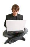 企业家庭作业学员 免版税库存照片