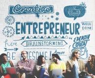 企业家投资者商业领袖概念 库存图片