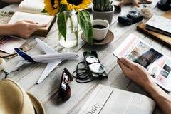 企业对象休闲旅行概念 免版税库存图片