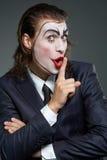 企业小丑 免版税图库摄影