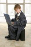 企业小人 免版税库存图片