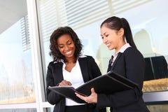企业小组妇女 免版税库存照片