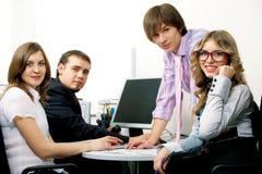 企业小组年轻人 免版税库存照片