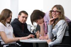 企业小组年轻人 免版税图库摄影