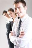 企业小组年轻人 库存图片
