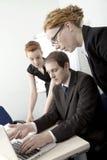 企业小组激发灵感 免版税库存照片