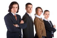 企业小组年轻人 库存照片