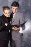 企业小组 免版税库存照片