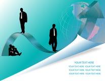 企业小组 向量例证