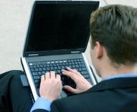 企业工作 免版税图库摄影