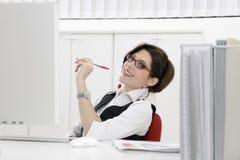 企业工作 免版税库存图片