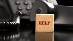 企业帮助概念 免版税库存图片